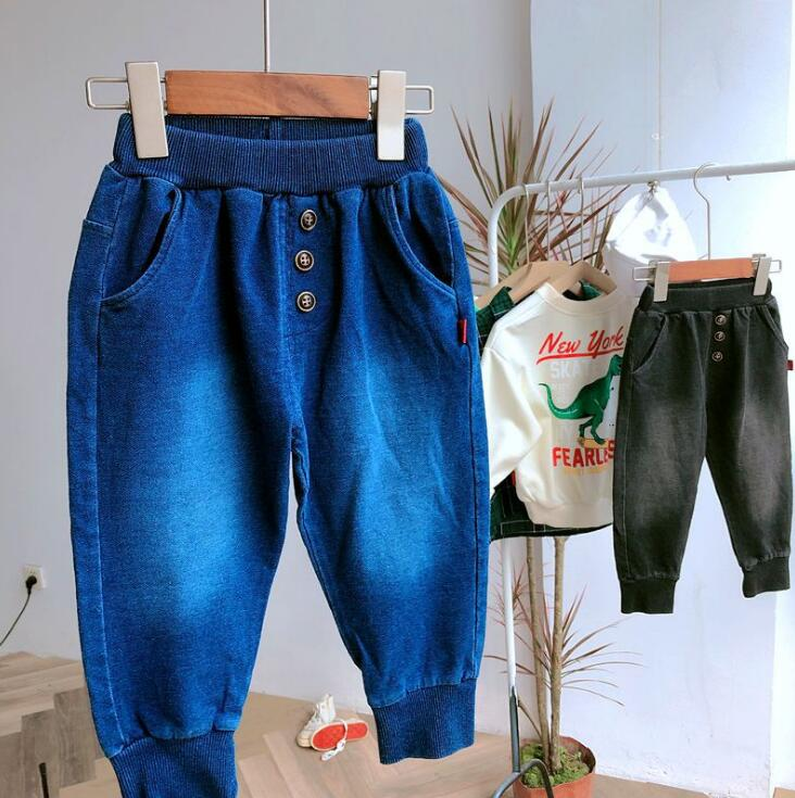 2019 new arrival boys  denim pants autumn  fashion kids jean pants 3-8t HU590(China)