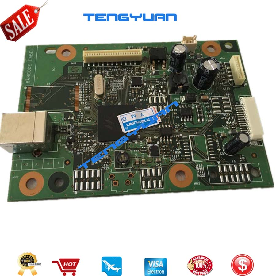 Original New CE831-60001 Formatter Board PCA Assy logic Main Board MainBoard mother board for HP M1136 M1132 1132 1136 M1130 ce831 60001 formatter board for hp m1130 m1132 m1136