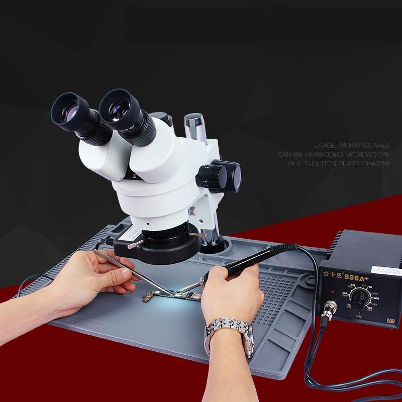 Newest S-190  48cm*32cm Big Size Microscope Base Platform Pad High Heat Resistant Maintenance Solder BGA Mat For Phone Repair