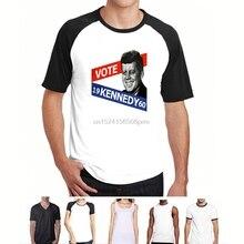 b02893022f00 Funny Men t shirt Women novelty tshirt Natural JFK Kennedy Retro T-Shirts (2