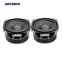 Aiyima 2PC 3Inch Audio Speaker 78MM 8Ohm 30W Bass Multimedia Speakers Mini Magnetic Loudspeaker For Audio