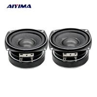 Aiyima 2PC 3Inch Audio Speaker 78MM 8Ohm 30W Bass Multimedia Speakers Mini Magnetic Loudspeaker For Audio Amplifier DIY