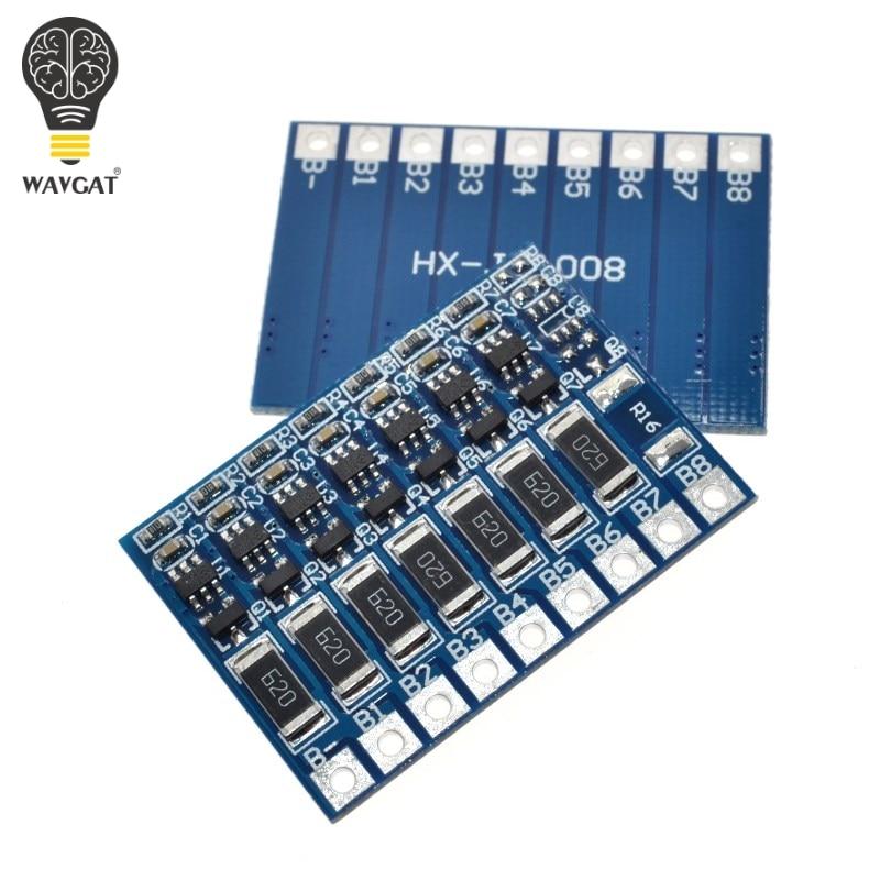 7S 4.2v li-ion balancer board li-ion balncing full charge battery balance board WAVGAT7S 4.2v li-ion balancer board li-ion balncing full charge battery balance board WAVGAT