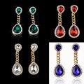 EH211 kpop New spring 2014 fashion brand jewelry brincos boucles d'oreilles strass bijoux bijouterie stud earrings for women