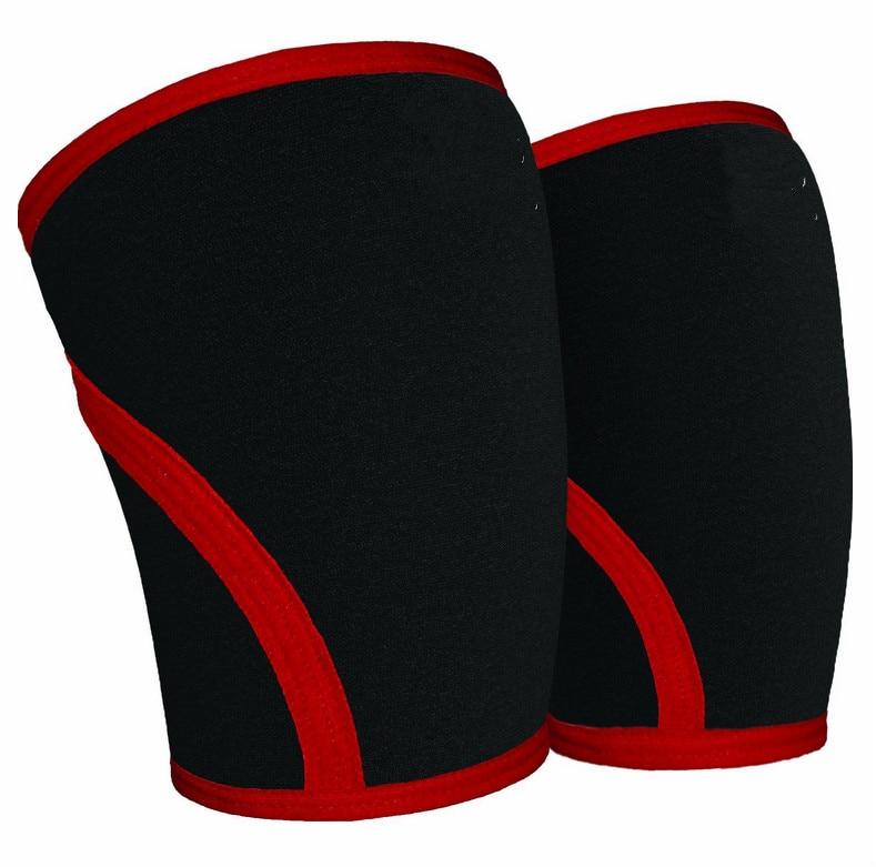 Cross border custom crouching exercise knee pads SBR sponge fitness weightlifting knee p ads, anti knee pads exercise protector strength training