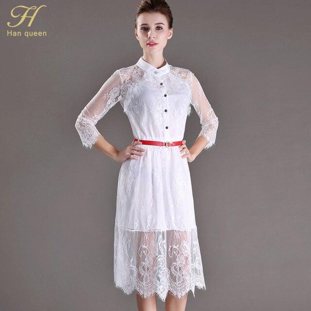 Распродажа. Чёрное / белое полупрозрачное летнее платье с кружевами и вышивкой. Мода 2015. Большие размеры. Элегантные вечерние и повседневные платья.
