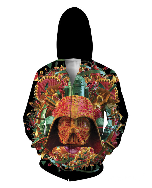 Women/Men's Red Star Wars  3D print Sweatshirts Hoodies Zipper outerwear S M L XL XXL 3XL 4XL 5XL