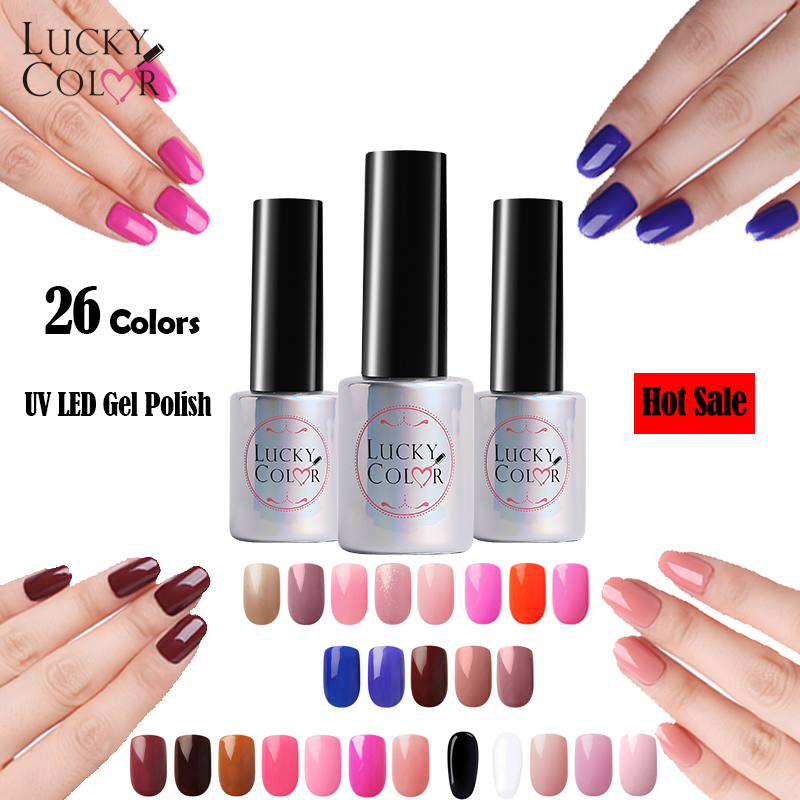 26 Colors Available Gel Varnish High Quality Soak Off UV Gel Nail Polish For Beauty Nail