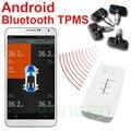 Android Bluetooth sem fio suporte interno sensores TPMS sistema de monitoramento de pressão de temperatura de alarme