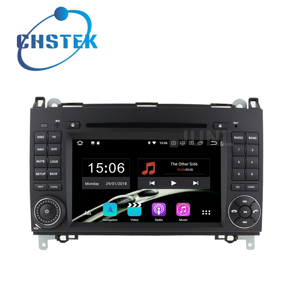 Octa base Android 8.0 Lecteur DVD de Voiture Radio GPS pour Mercedes/Benz B200 W169 W245 Viano Vito Sprinter W906 W209 A180 VW Crafter