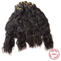 Evet onda Natural brasileña virginal 1 unids sin procesar vírgenes Weavings cabello Natural brasileño Wave extensiones del pelo 100 g/pcs