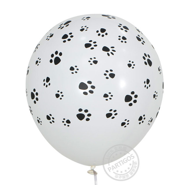10pcs/lot 12inch 3.2g Animal Latex Balloons tiger zebra dog leopard birthday theme party balls helium inflatable globos kid gift
