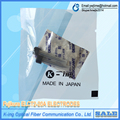 ELCT2-20A Electrodos Fujikura FSM50S/60 S/50R/60R/17 S/18 S/17SFH/17R/19 S/70 S/80 S/62 S fusionadora de fibra Óptica