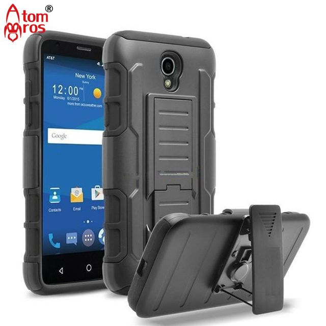 Rugged Belt Clip Holster Cover Hard Armor Case For ZTE Uhura / Ultra / Quest N817 Cases Phone Shell Skin Capa Fundas Kickstand