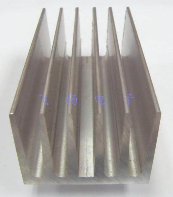 Fast Free ship 2pcs/lot Fan high quality aluminum heatsink 100*53.4*40MM radiator fast free ship 1set contains 2pcs for atmega16 nrf905 cc1100 nrf24l01 nrf2401a wireless development board