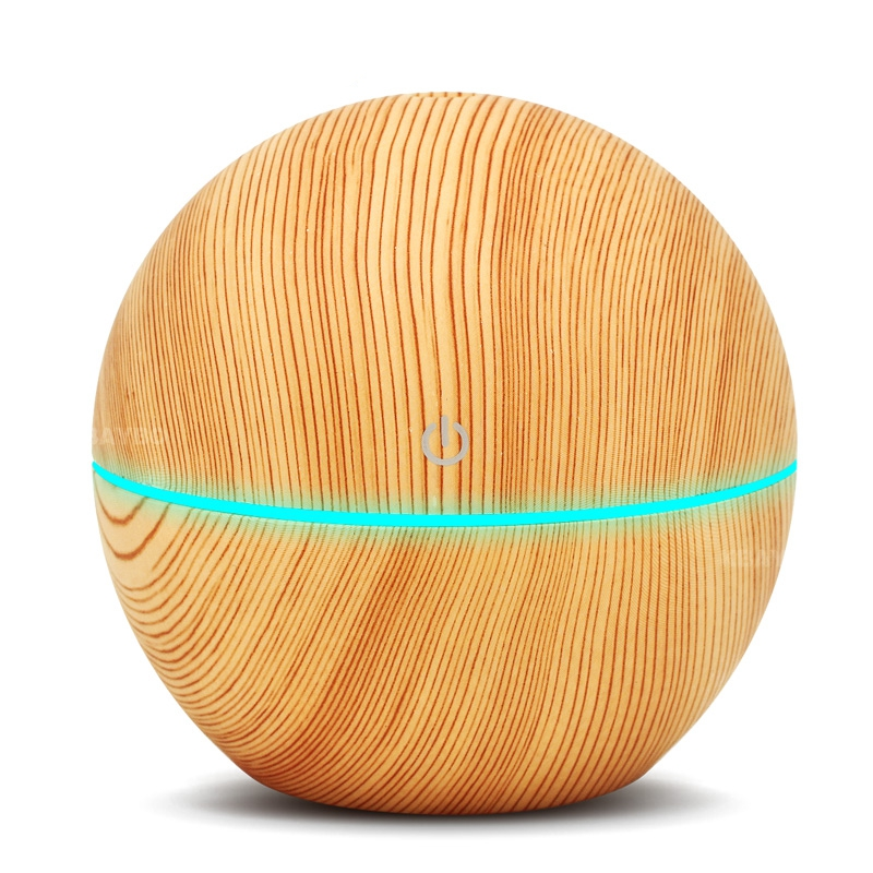 130Ml Ultrasonic Air Humidifier Electric Aromatherapy Essential Oil USB Aroma Diffuser Cool Mist Maker 7 Color Light