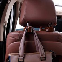 2PCS Generation Car Seat Headrest Bags Organizer Hook Auto Accessories Holder Clothes Hanging Hold hanger Styling