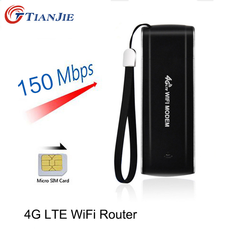 4G USB Mini Wifi Router 150Mbps Wireless Stick Date Card Mobile Portable Hotspot Broadband Unlock Car Ufi Repeater Mifi Dongle