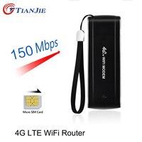 4G USB Mini Wifi Router 150Mbps Wireless Stick Date Card Mobile Portable Hotspot Broadband Unlock Car Ufi Repeater Mifi Dongle