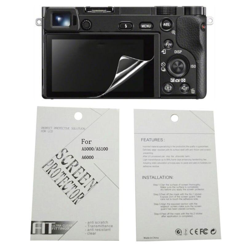 2 Pzas Protectores de Pantalla para Sony Alpha A7II A7III A7SII A7RII A99 A9