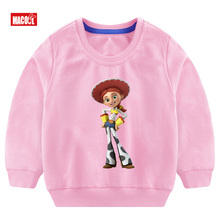 Boys Cotton Long Sleeve Pullover Tops Play Buzz Lightyear  Boy/girl Tops Breathable Comfort T Shirt Funny  Long Sleeve Pullover цена