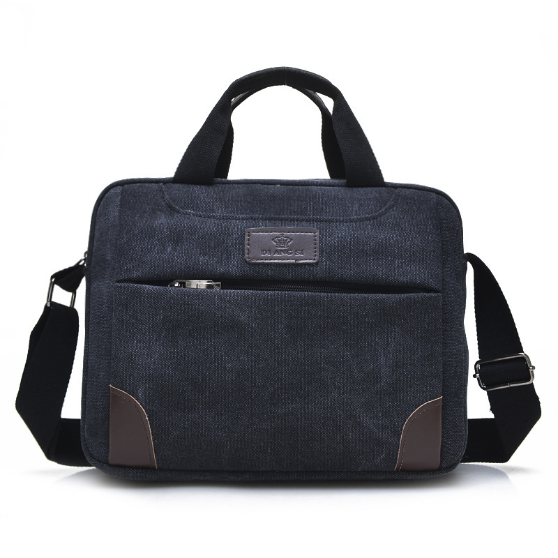 Fashion Brand Canvas Men's Casual&Business Bag Handbag Crossbody Shoulder Bag Messenger Bags Zipper Bag For Ipad casual canvas satchel men sling bag