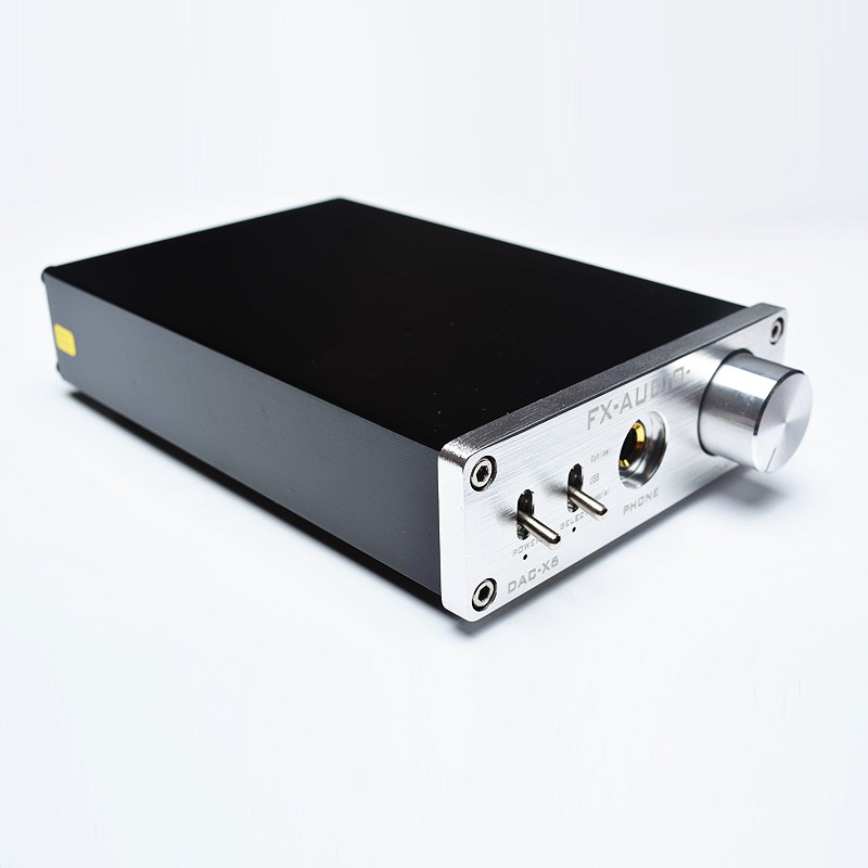 где купить FX-Audio DAC X6 Fever HiFi Optical Coaxial USB Amplifier Digital Audio Frequency DAC Decoder Headphone AMP 24BIT/192 DC12V 1A дешево