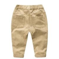 Baby Boys pants jeans 2017 Fashion Boys Jeans for Spring Fall Children's Denim Trousers Kids Navy Khaki Designed Pants