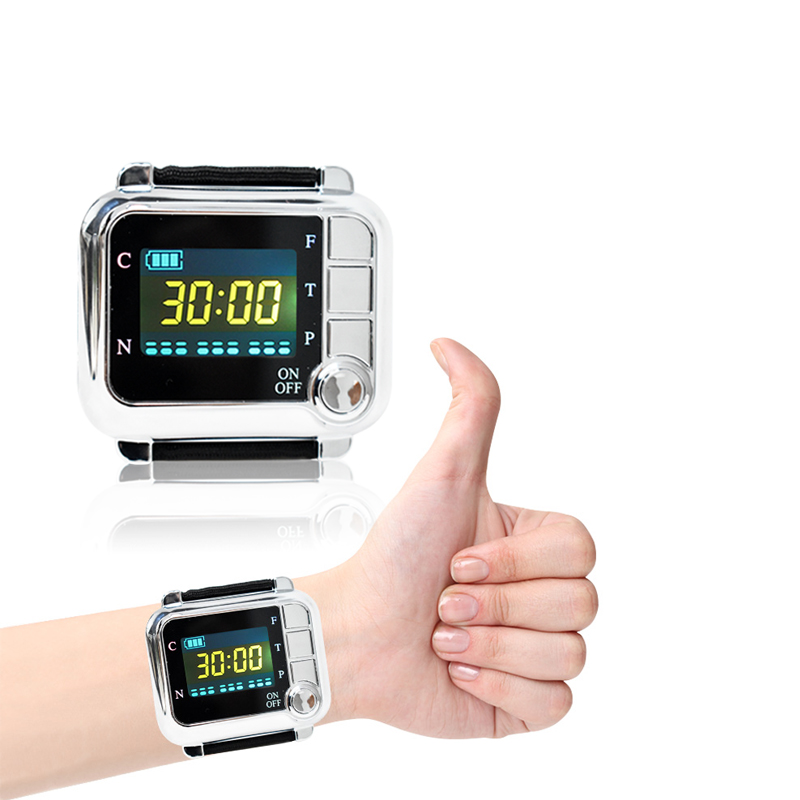 Laser Physiotherapy 650nm Diode Therapy Wrist Low Level Laser Therapy LLLT for Diabetes Rhinitis Hypertension Improve