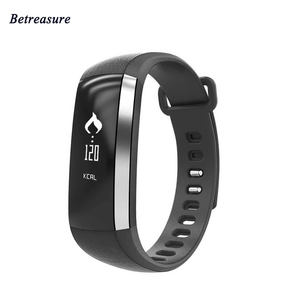 Betreasure Bluetooth M2 Smart Wristband Blood Oxygen Smart Bracelet Heart Rate Monitor Fitness Tracker Smartband For
