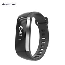 Betreasure Bluetooth M2 смарт-браслет крови кислородом смарт-браслет сердечного ритма Мониторы Фитнес трекер smartband для IOS Android