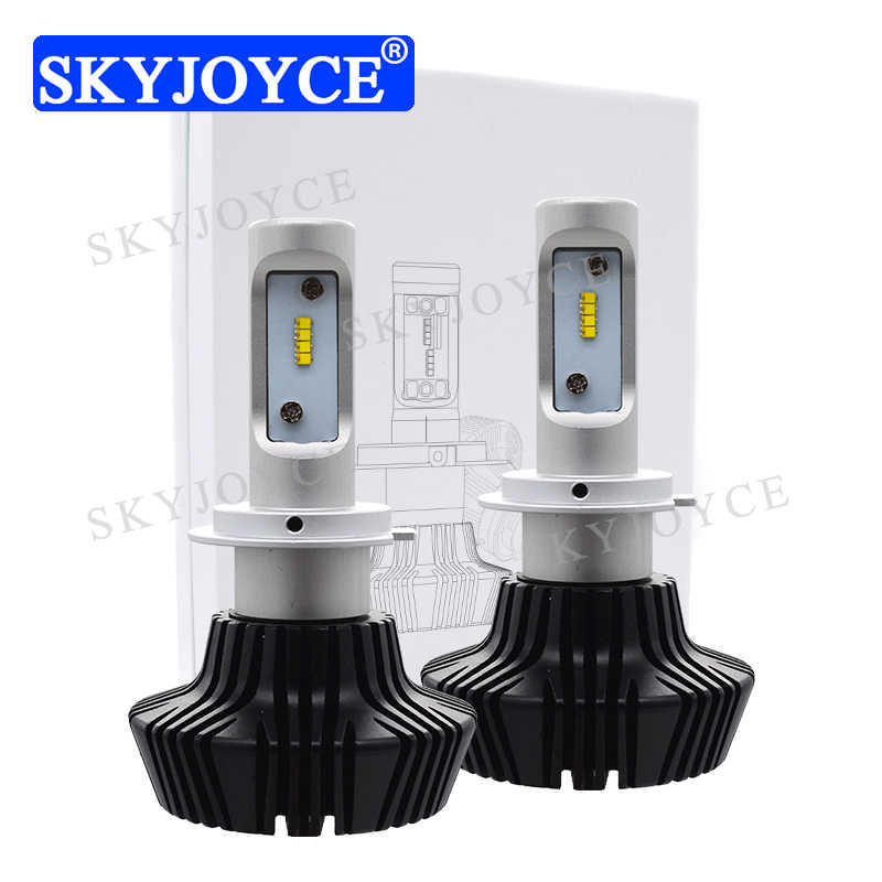 SKYJOYCE G7 Car LED Headlight Kit 50W 6500K 8000LM Super Bright LUXEON ZES LED Chips H7 H11 H4 High Low Beam 7th LED Headlight