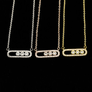 V Attract Geometric Jewelry CZ