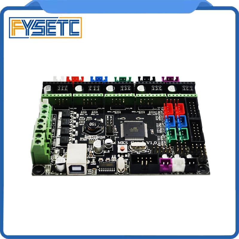 MKS Gen l v1.0 Controller Board MKS Gen-L V1.0 Integrated Mainboard Support A4988/DRV8825/TMC2100 For Tornado/Tarantula 3D Print