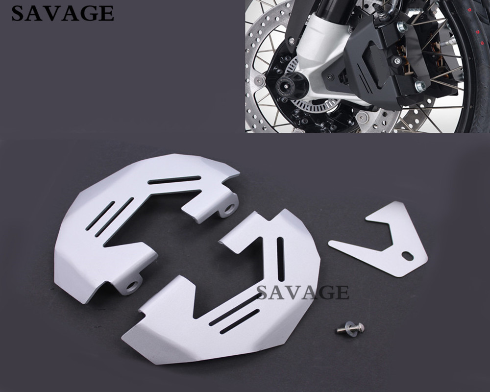 Motorcycle Sliver Front Brake Caliper Cover Protection Cover Guard For B M W R1200GS LC 2013-2015 R1200GS ADV 2014-2015 акрапович для бмв r1200gs 2013