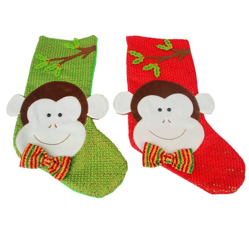 Cute Christmas Stocking Socks Christmas stocking Candy ...