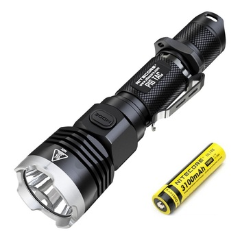 Nitecore P16 TAC CREE XM-L2 U3 1000 Lumens LED Tactical Flashlight with 3100mah 18650 Rechargeable Battery