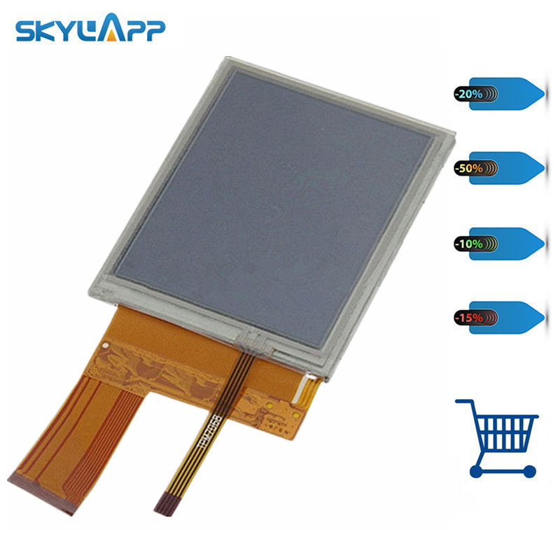 Skylarpu 3.8 Inch For LQ038Q7DB03R LCD Screen Display Panel For Trimble TSC2 LCD Display Screen Panel Free Shipping