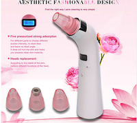 4 IN 1 Comedo Blackhead Vacuum Suction Acne Pore Cleaner Facial Skin Care Beauty Machine Facial