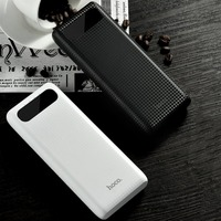 HOCO B20A Power Bank 20000mAh Dual USB Powerbank 18650 Battery Portable Charger External Battery Bank For