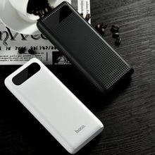 HOCO B20A Powerbank banco de la Energía 20000 mAh Dual USB 18650 Cargador de Batería Portátil Banco Externo de La Batería para Los Teléfonos