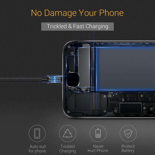 TORRAS Micro Kabel USB Ładowarka Adapter Szybkie Ładowanie
