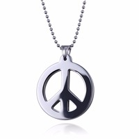 New Arrival Circle Tungsten Carbide Blank Pendants, Fashion Men Jewelry With Stainless Steel Chain WTU010P