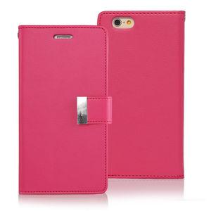 Image 5 - GOOSPERY Mercúrio originais Ricos Diário Tri Fold Wallet Case Capa para Apple iPhone 5 5S SE 6 6s 7 8 Plus X XS XR XS MAX 11 Pro max