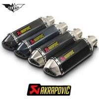 Akrapovic exhaust motorcycle exhaust escape moto db killer For bmw s1000rr 2015 c600 sport s1000xr nine t r1200gs adventure lc