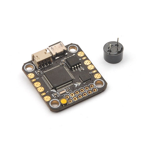 JMT Mini F4 Flight Controller Buil-in PDB 5V/1A BEC Buzze with Micro Buzzer Support Betaflight 3.1 DSHOT for Racer Drone F19910 emax stm32f303 f3 femto flight controller with integrated bec buzzer pads vbat pdb
