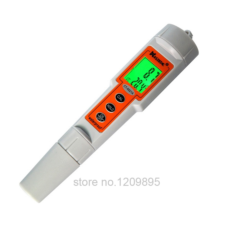 Pen type acidity meter, waterproof digital pocket type portable pH meter portable pH measuring controlling instrument portable direct ophthalmoscope pocket type