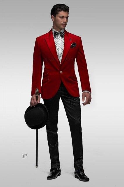 Pantalones formal italiano flaco blazer masculino suave baile hombres Tuxedo  2 unidades terno g41 b737d69fa2e