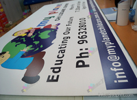 High Quality UV Flated Digital Printing Coroplast Sign Or PS Sign And Acrylic Signs Hard PVC