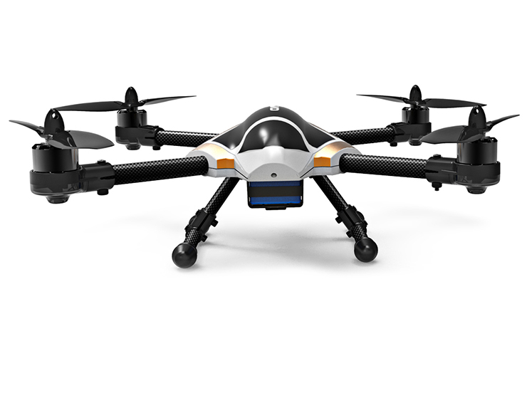 XK X251 With Brushless Motor 3D6G Mode LED RC Quadcopter RTF 2.4GHz